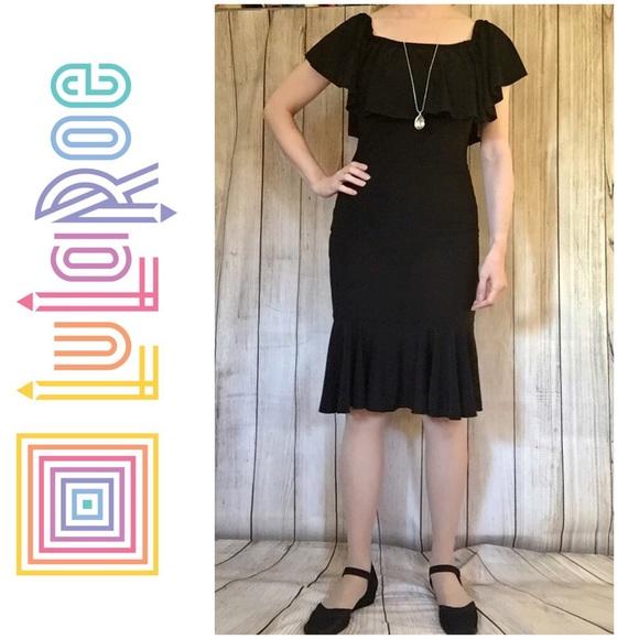 Lularoe Dresses Cici Black Dress New With Tags Poshmark